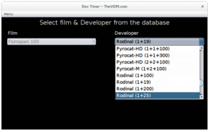 Selecting a developer from the database